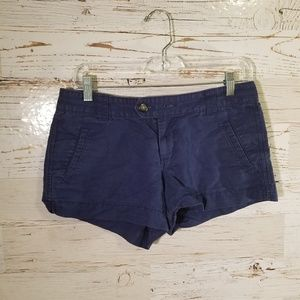 Old Navy low rise blue shorts